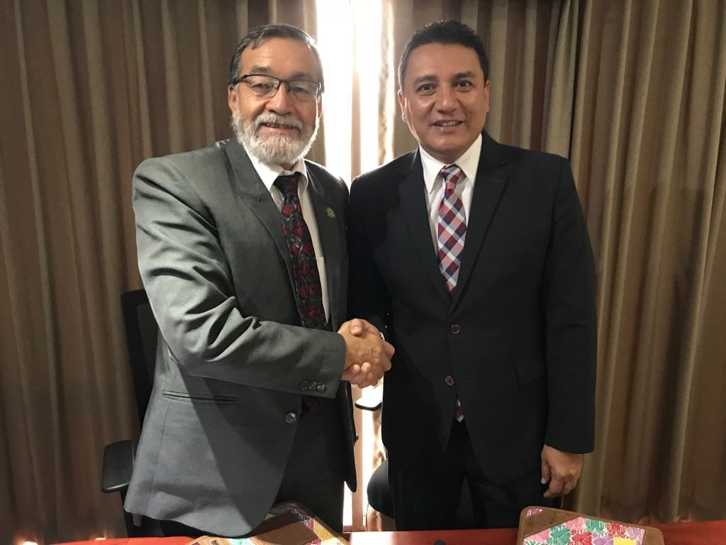 Comuna de Xela e Inguat firman convenio