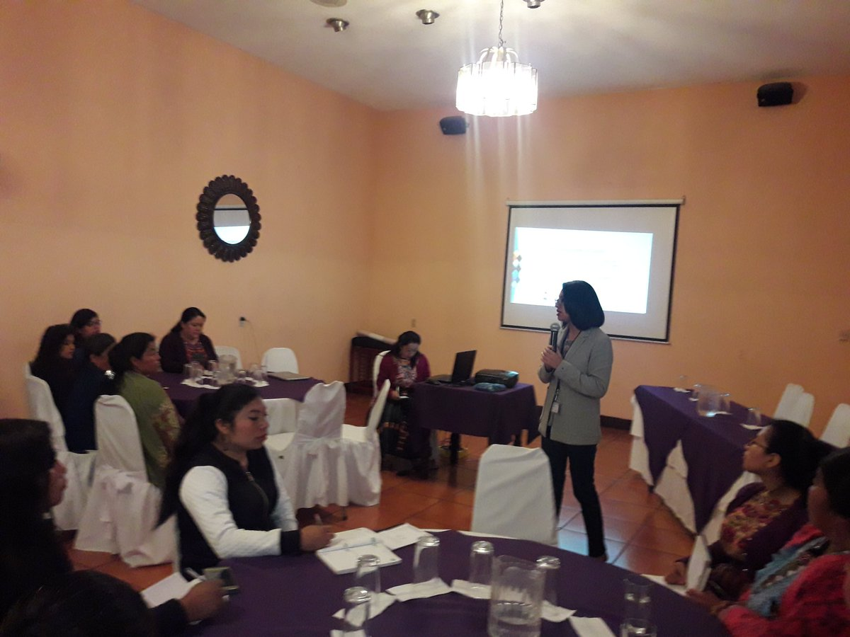 AMUTED realiza foro con mujeres lideresas
