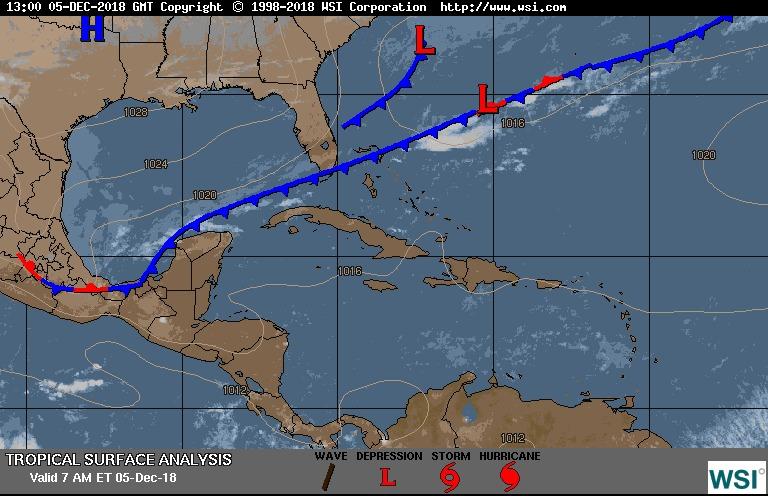¿Cuál es el pronóstico del clima para este miércoles?