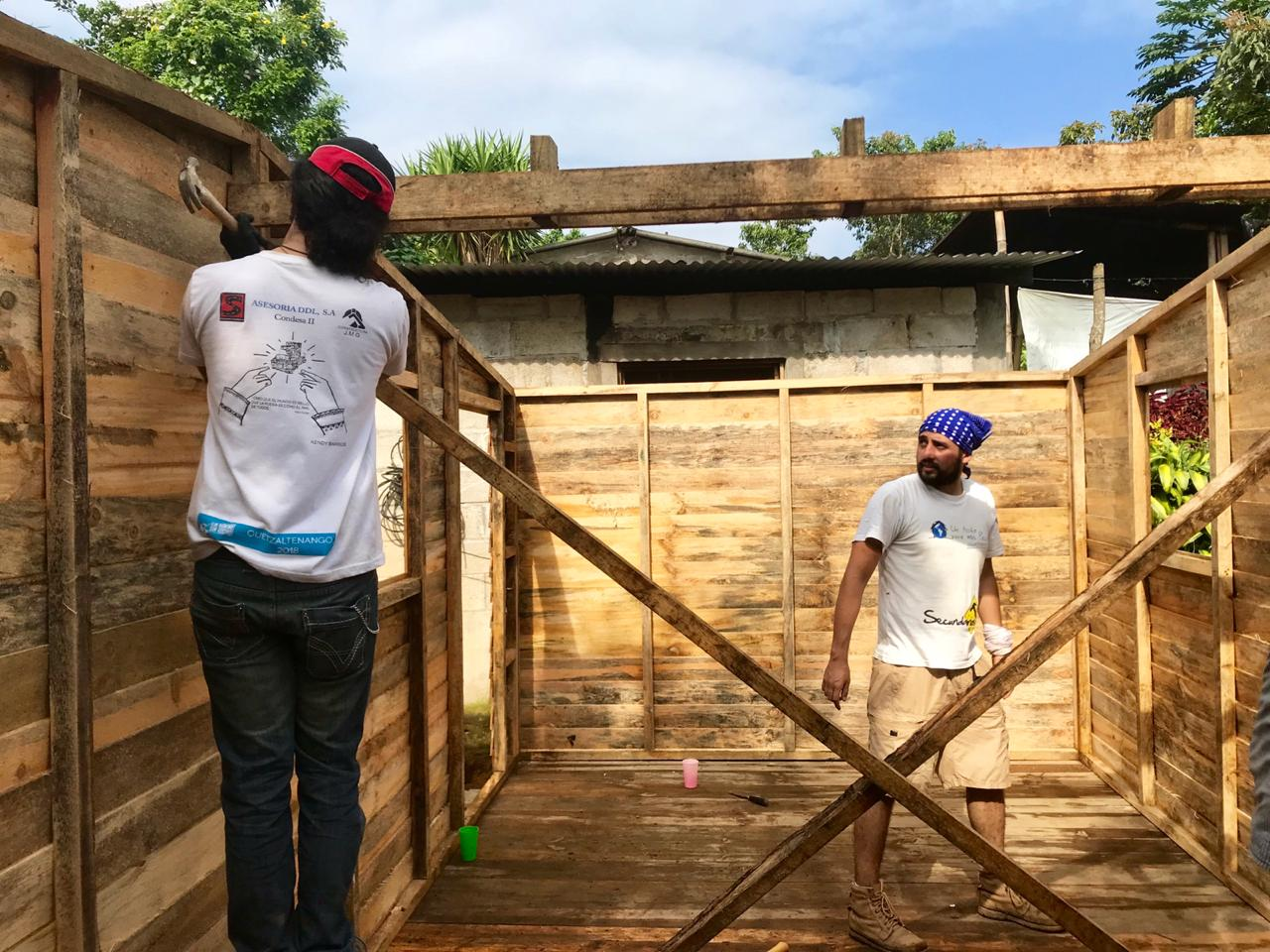 Techo construye 24 viviendas en Colomba