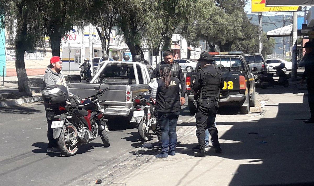PNC asegura estar accionando ante la inseguridad en Xela
