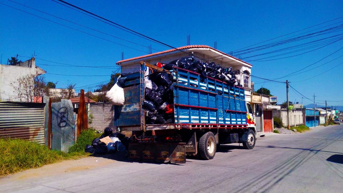Recolección de basura será normal en Xela, durante Navidad y Año Nuevo