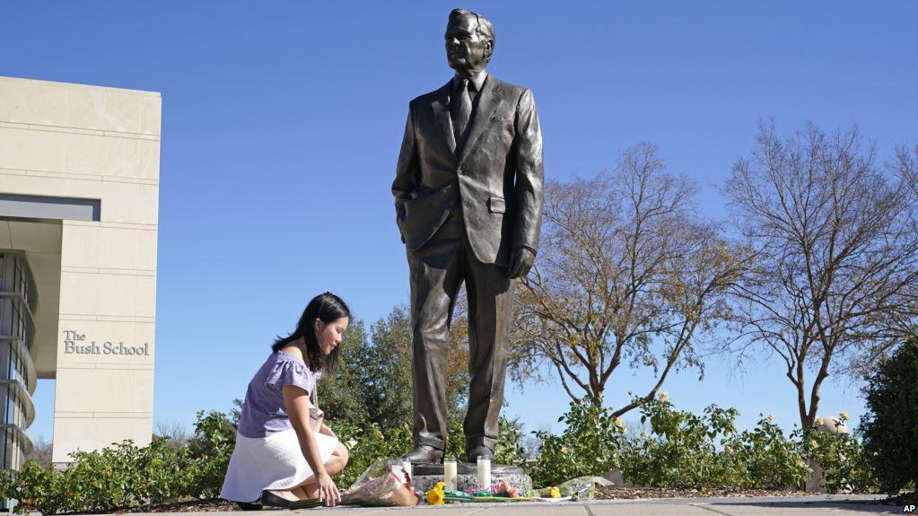 Washington prepara el último adiós al expresidente George H.W. Bush