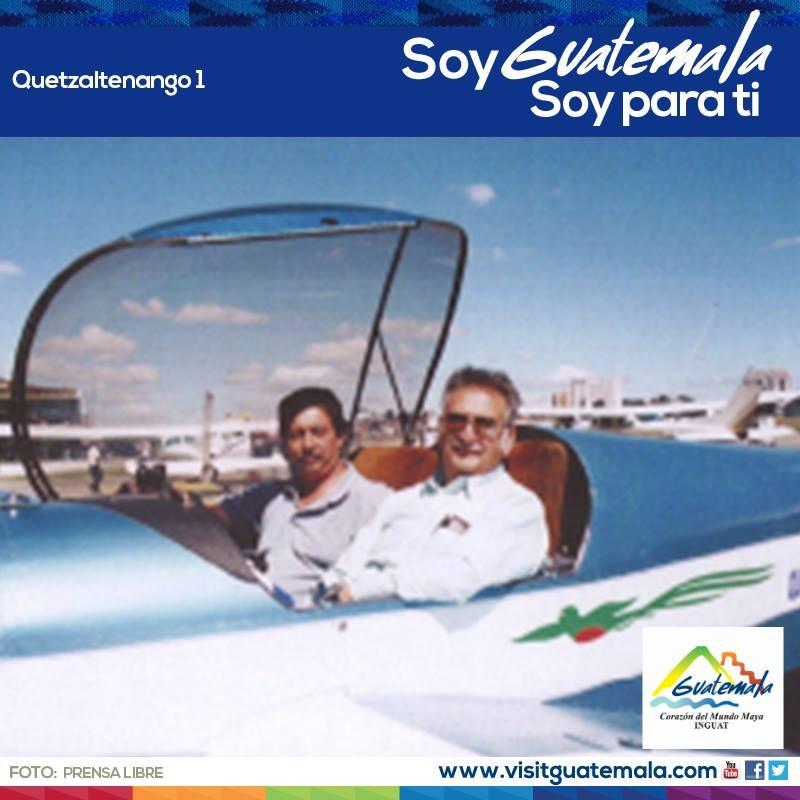 Muere quetzalteco quien construyó el primer avión en Centroamérica