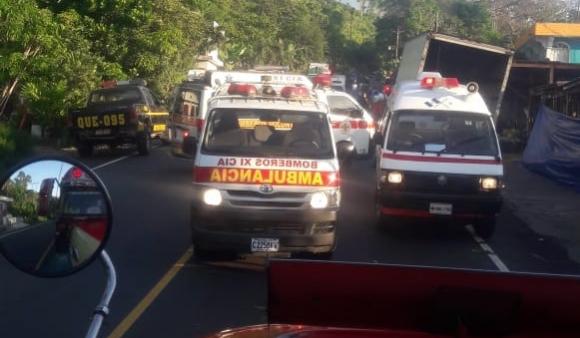 Accidente en la ruta Cito Zarco deja un muerto y siete heridos