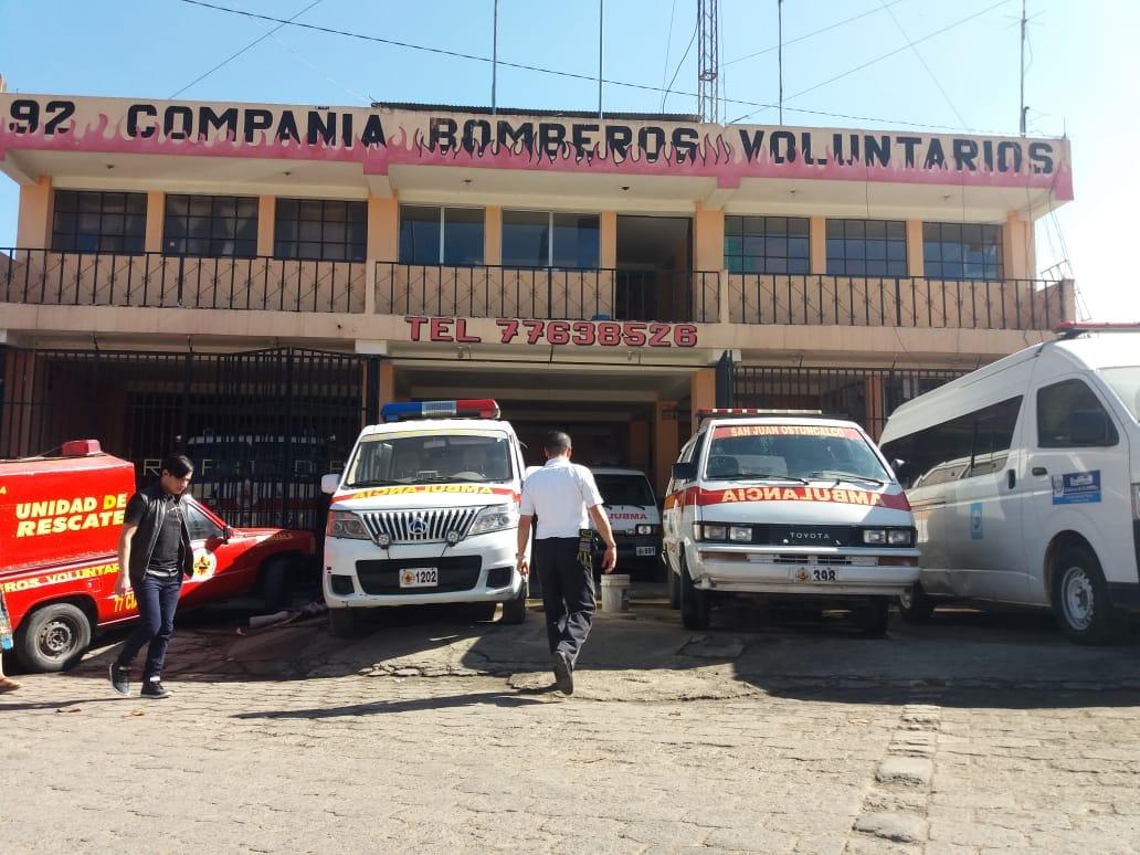 Pandilleros amenazan a bomberos de San Juan Ostuncalco