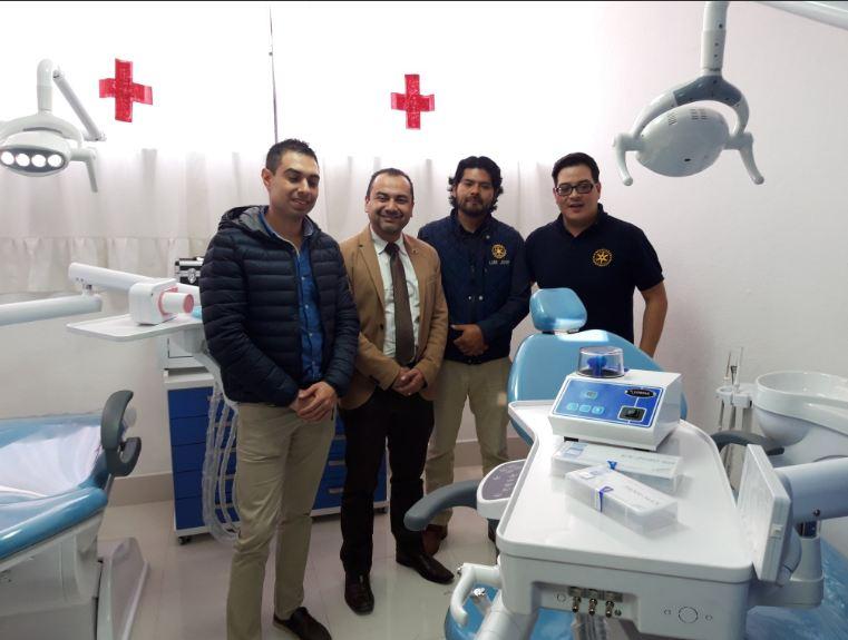 Xelapan entrega clínica en Cruz Roja