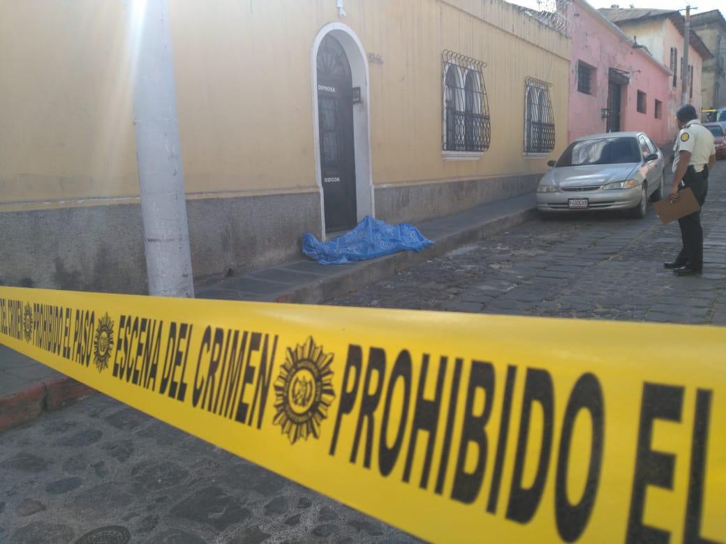 Joven fallecido en la zona 1 era enfermero, según informe preliminar