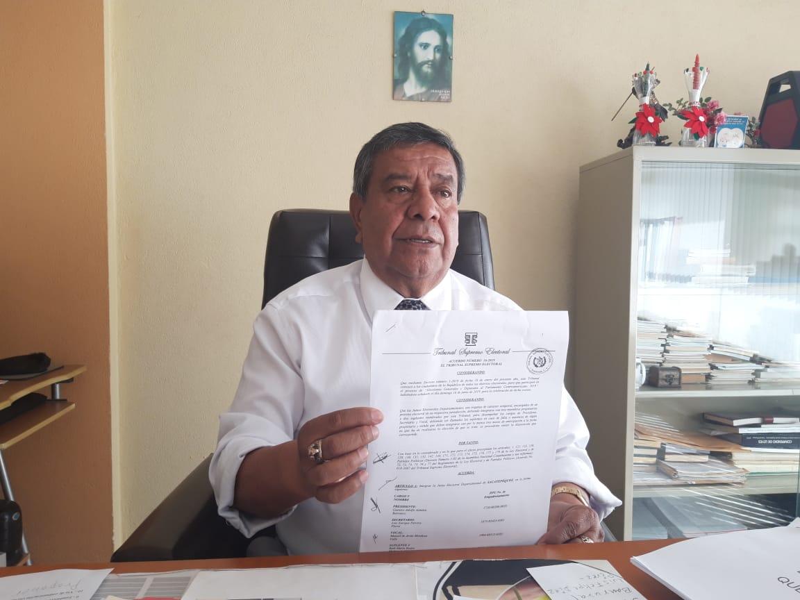 Definida la Junta Electoral Departamental de Quetzaltenango