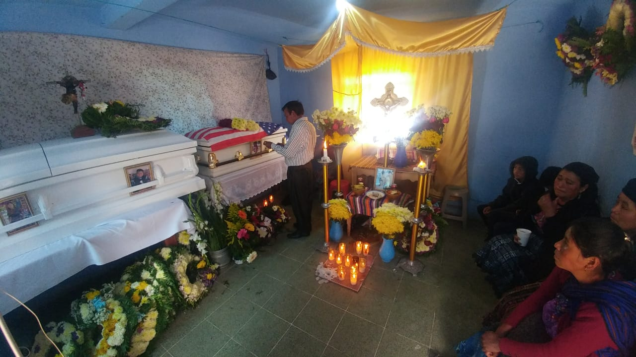 Velan en Concepción Chiquirichapa a víctimas de incendio en Estados Unidos