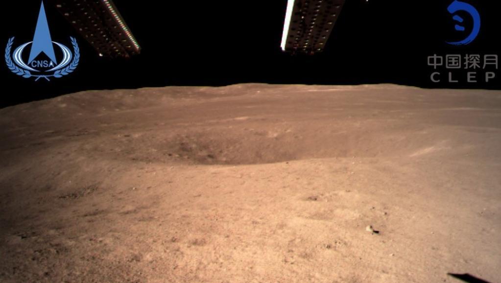 China aluniza en la cara oculta de la Luna y envía fotos