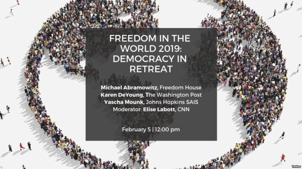 Venezuela, Nicaragua y EE.UU. en el reporte anual de Fredoom House