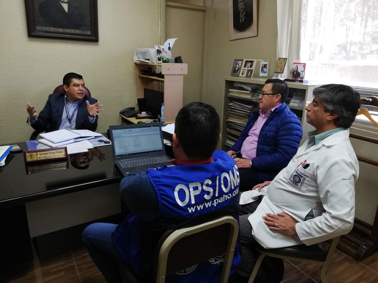 OPS y OMS apoyan para fortalecer seguridad en HRO