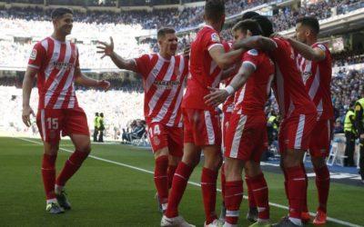 El Girona logra histórica victoria en el Santiago Bernabéu