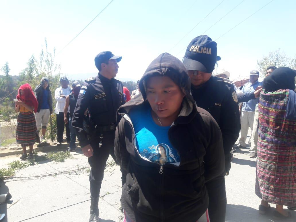 Mujer señalada de robo estuvo a punto de ser linchada