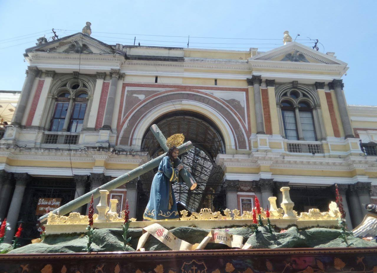 Fechas y horarios de procesiones, para la Semana Santa 2019 en Xela