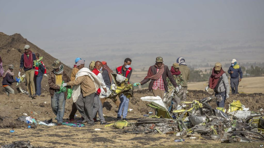 EE.UU. participa en investigación de Etiopía por siniestro de Boeing