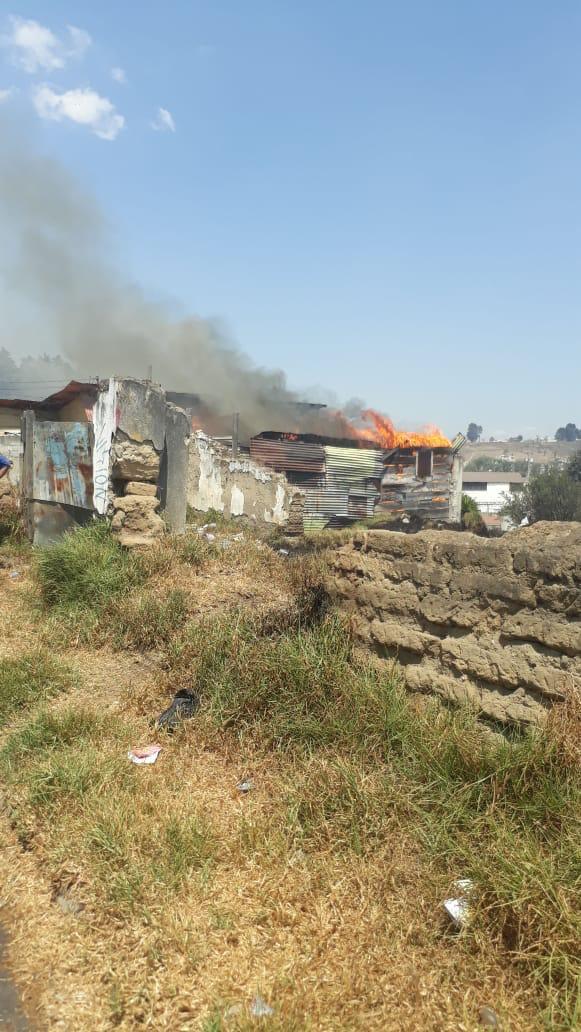 ¿Cómo se origina incendio en vivienda de la zona 2 de Xela?