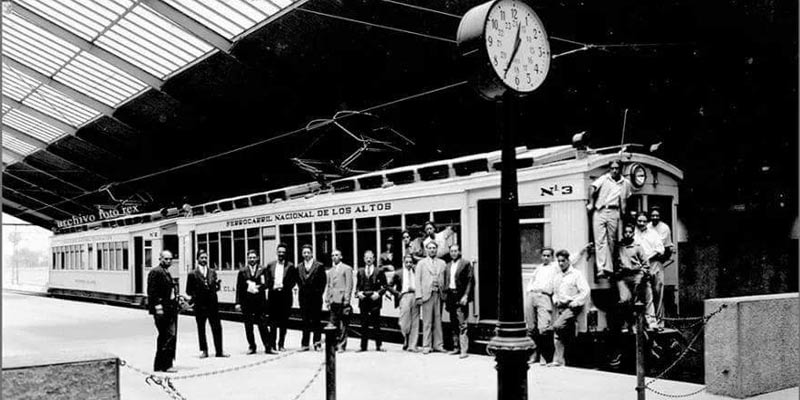Hace 89 años fue inaugurado el Ferrocarril de los Altos