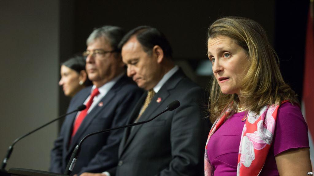 Canadá sanciona a 43 personas más vinculadas con Maduro