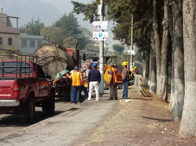Vecinos temen que proyecto de recapeo quede abandonado