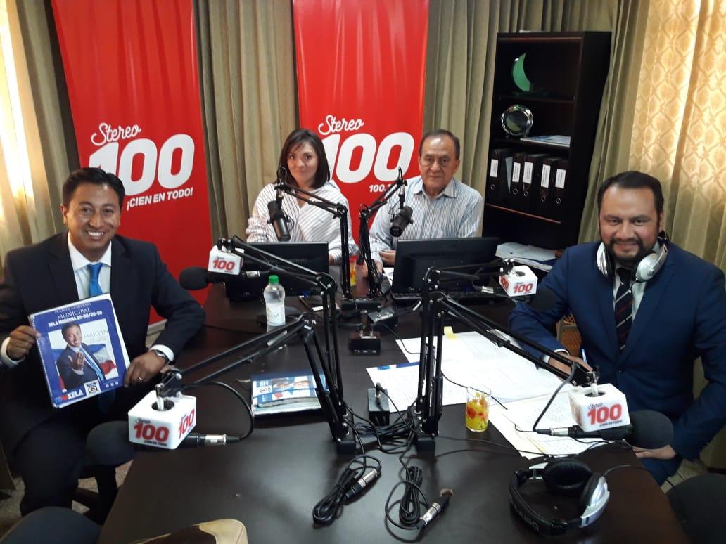 Marvin de León y Francisco Mérida, candidatos a la alcaldía de Xela, en #YoDecido100
