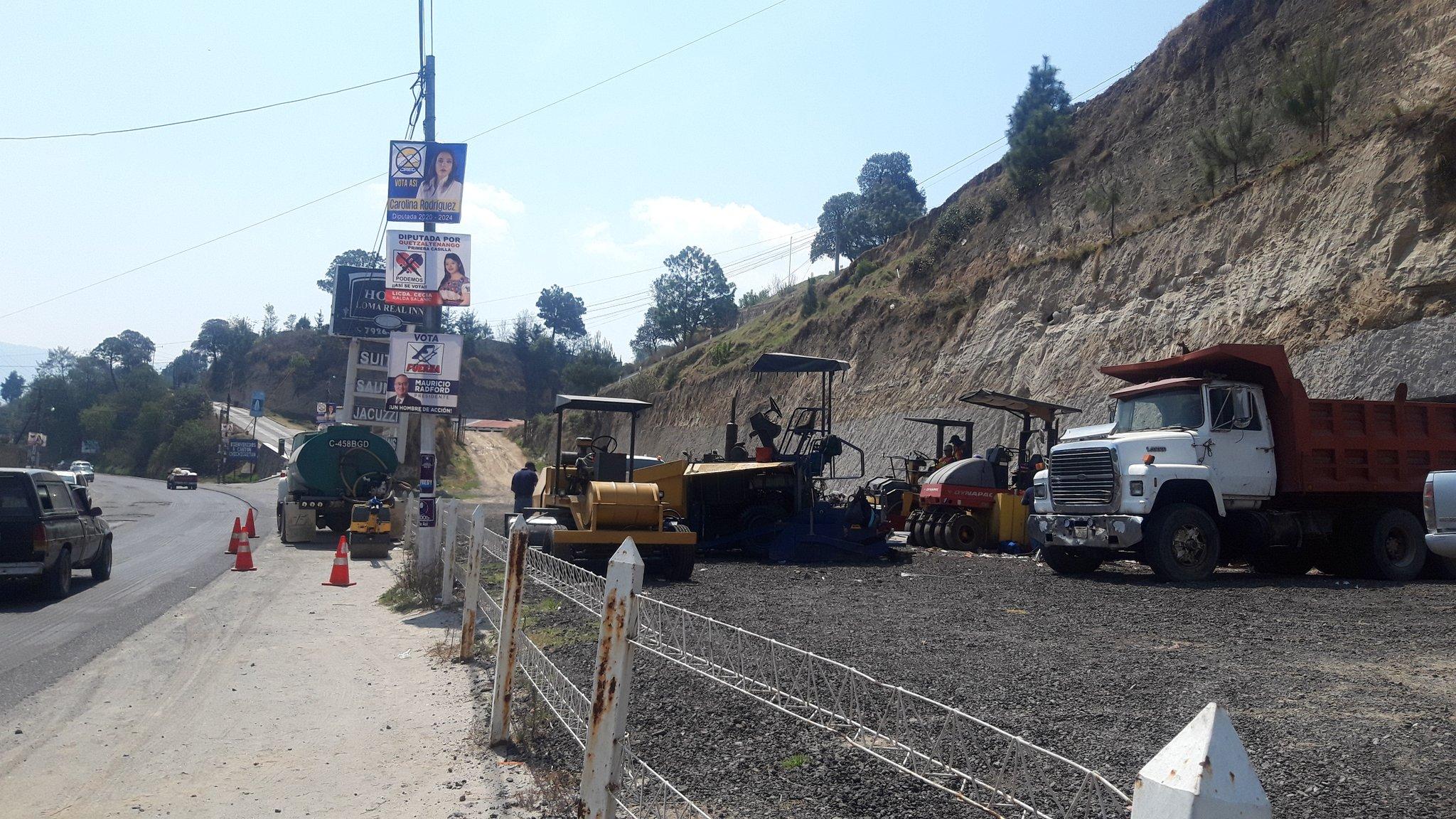 Tres meses después reinician trabajos en ruta Cito Zarco