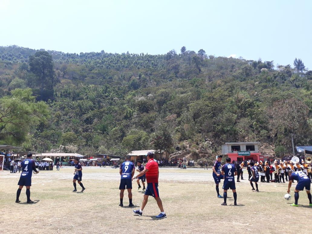 Xelajú juega partido en Huehuetenango
