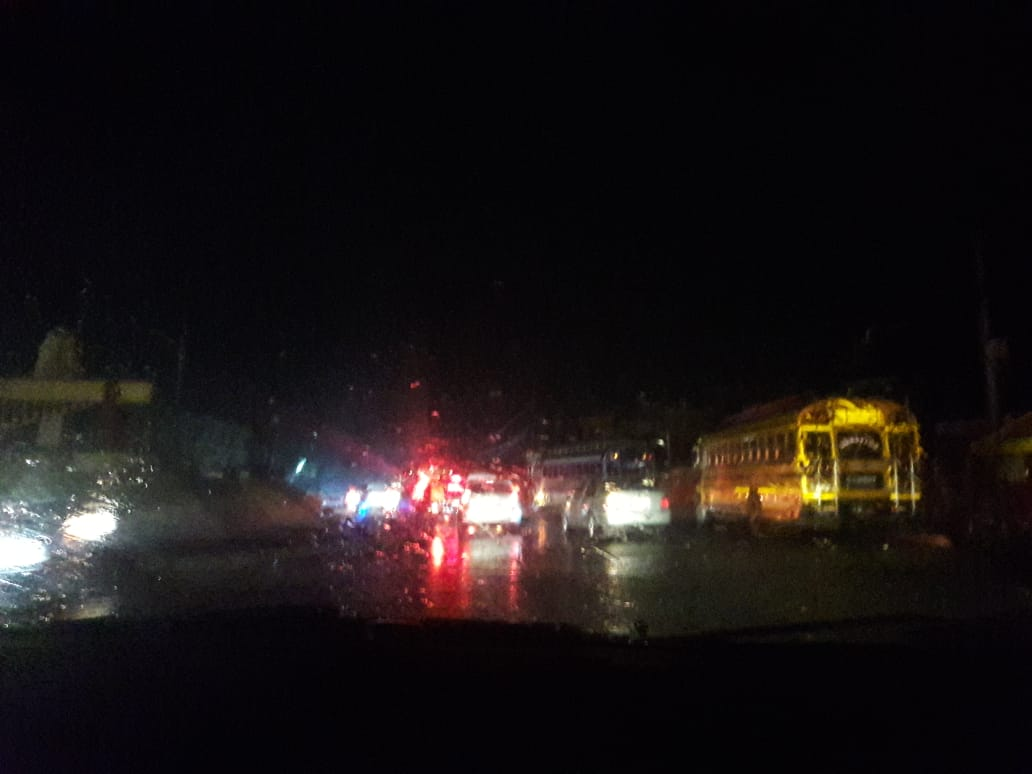 Problemas en la red eléctrica de Quetzaltenango tras primer lluvia del año