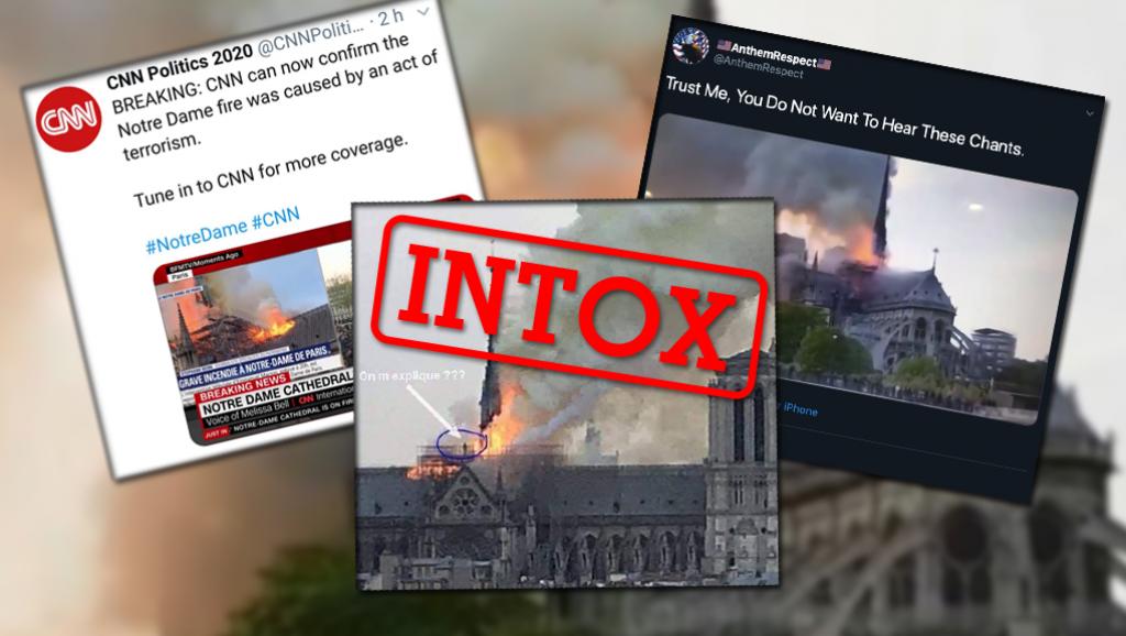 Notre-Dame: rumores infundados para instrumentalizar una tragedia