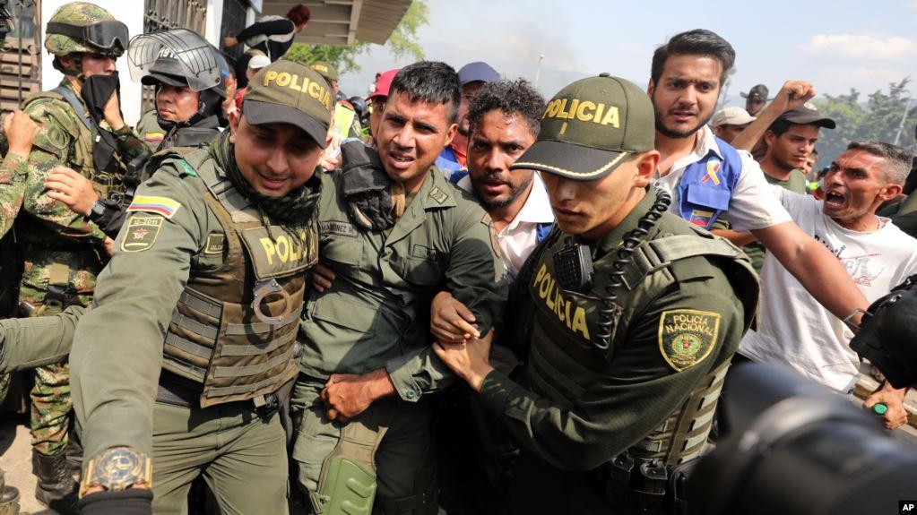 Duque y Guaidó acuerdan atención a exmilitares venezolanos exiliados