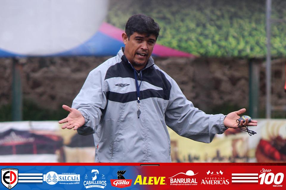 Gabriel «El Chato» Castillo, el nuevo director deportivo de Xelajú
