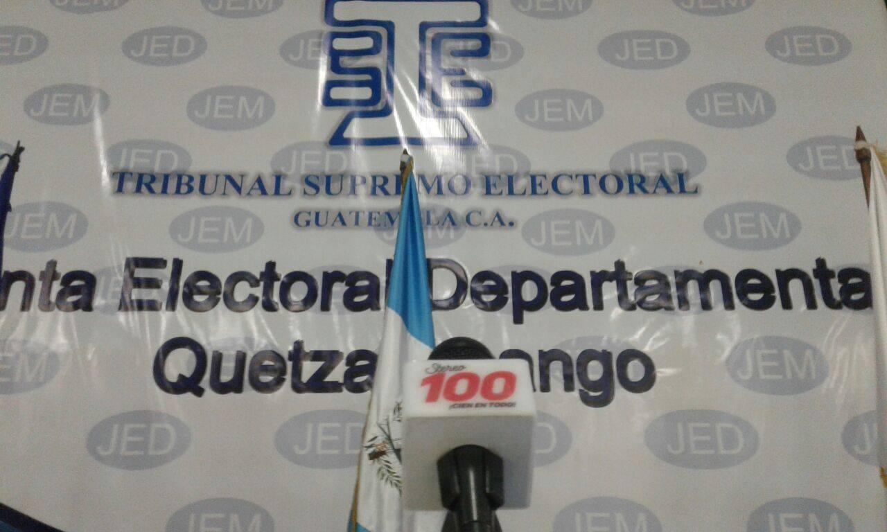 Junta Electoral Departamental de Quetzaltenango presenta plan de acción