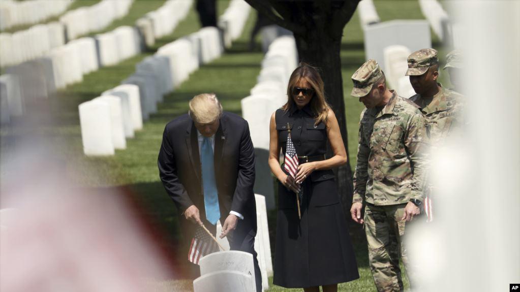 EE.UU. honra a militares fallecidos en combate durante «Memorial Day»