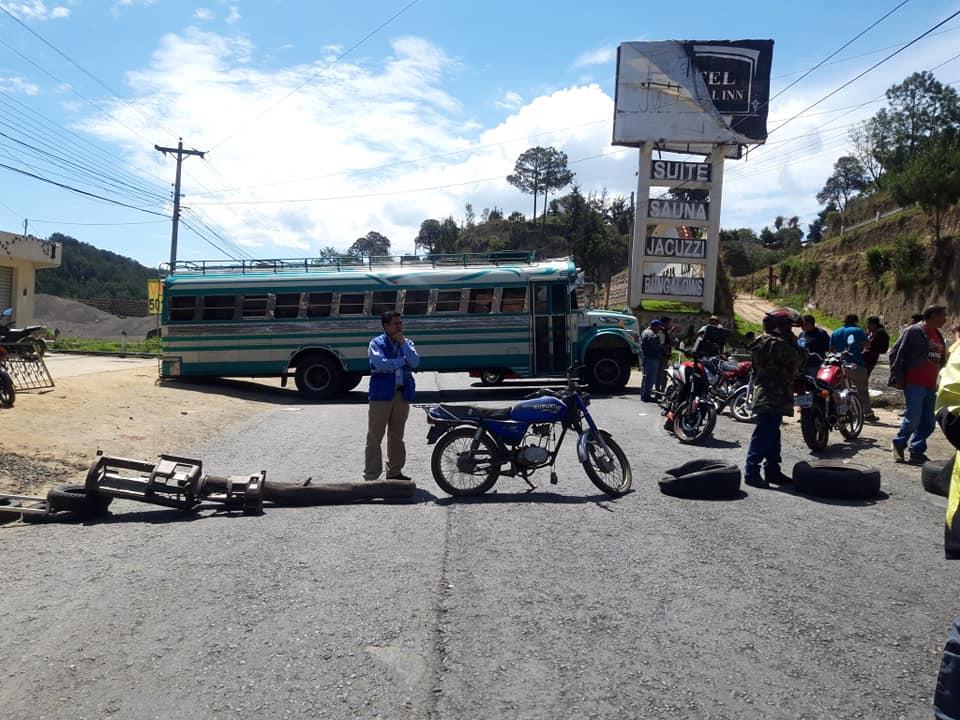 Anuncian más bloqueos en la ruta Cito Zarco. Esta es la postura del gobernador
