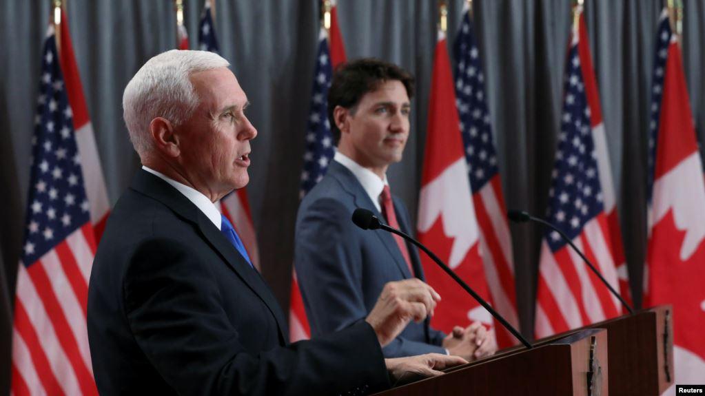 Pence y Trudeau discrepan sobre el rol de Cuba en eventual solución a crisis en Venezuela
