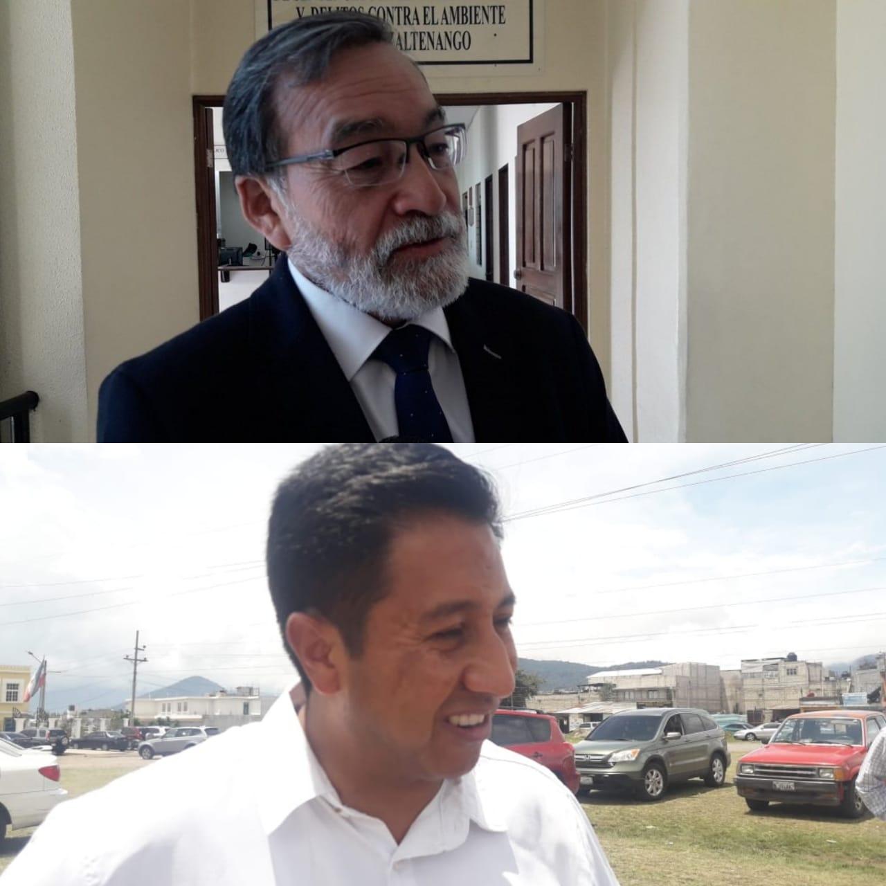 Luis Grijalva denuncia a candidato a la alcaldía de Xela