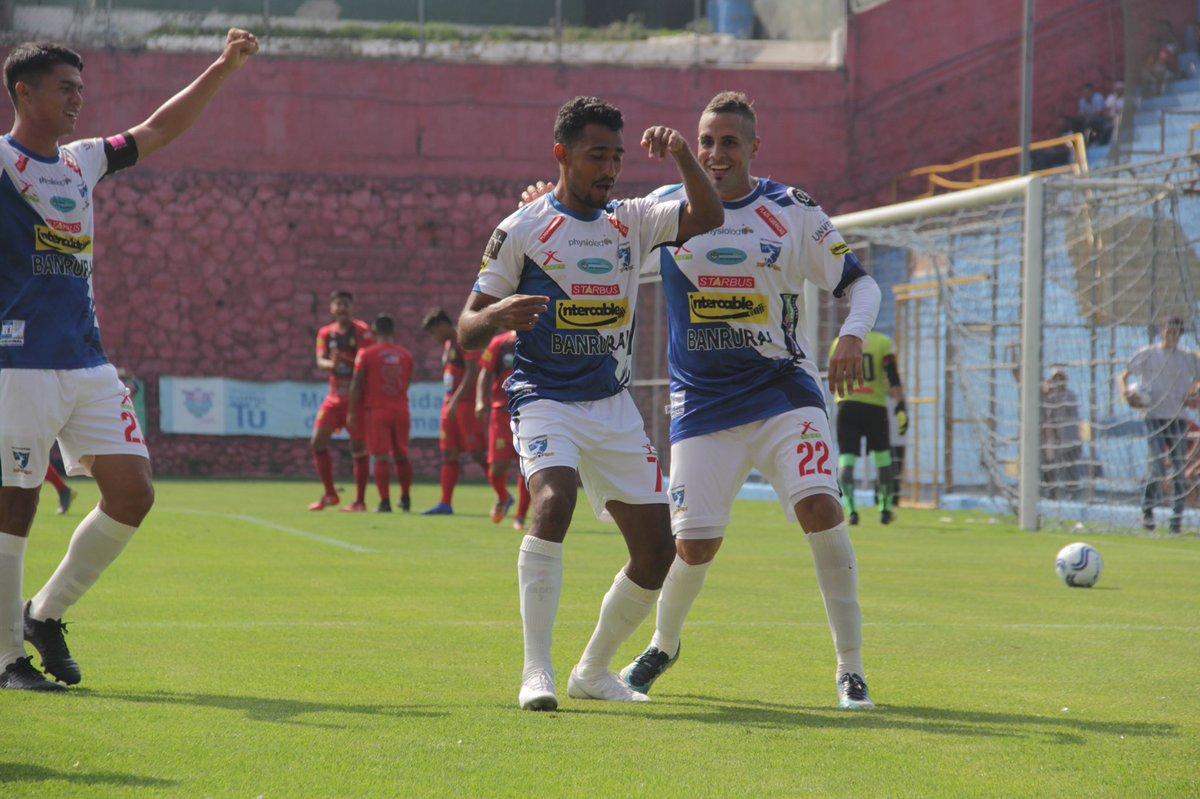 Suchitepéquez golea a Jocotán en el repechaje y mantiene la categoría