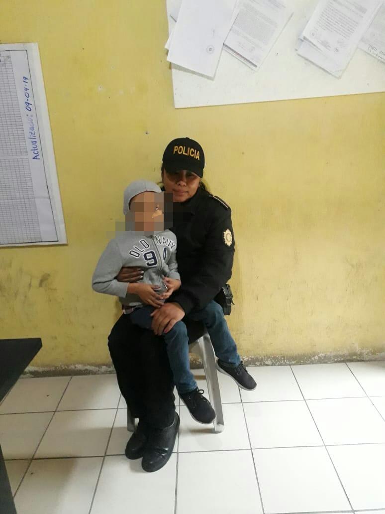 Abandonan a niño en bus entre Totonicapán y Sololá