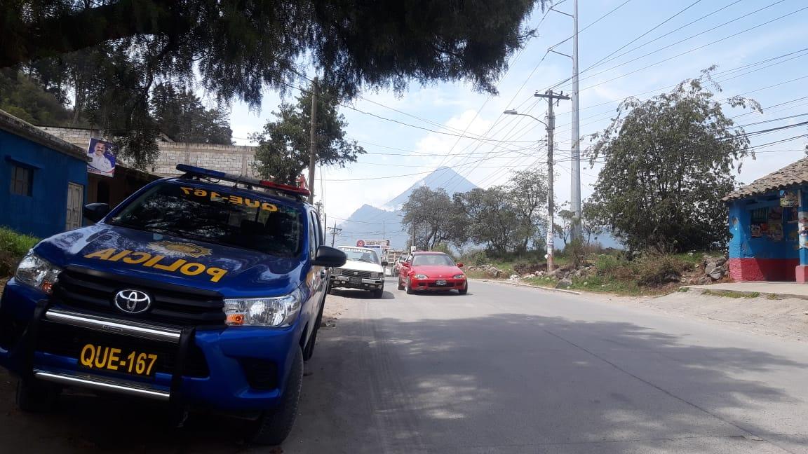 Paralizan servicio de buses en el Valle de Palajunoj