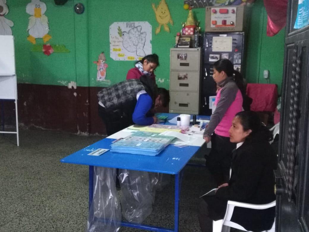 ((En directo)) Quetzaltecos acuden a las urnas