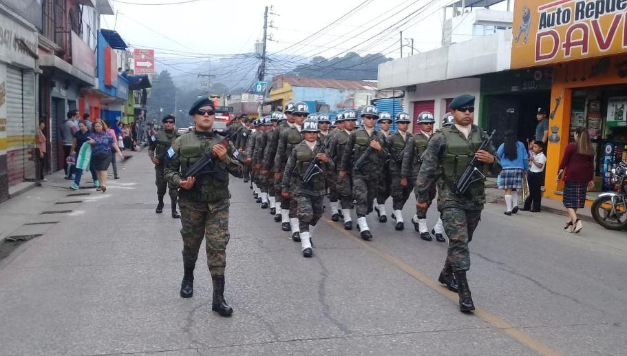 Ejército brindará seguridad en Quetzaltenango durante elecciones
