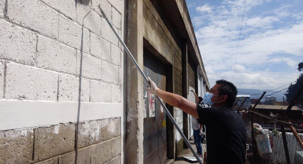 ¿Por qué pintarán muros en antigua bodega de la EEMQ?