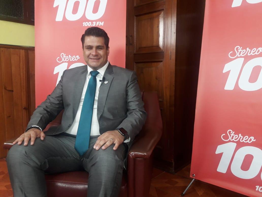 Patric Gramajo, candidato a alcalde, por el partido VALOR en #YoDecido100