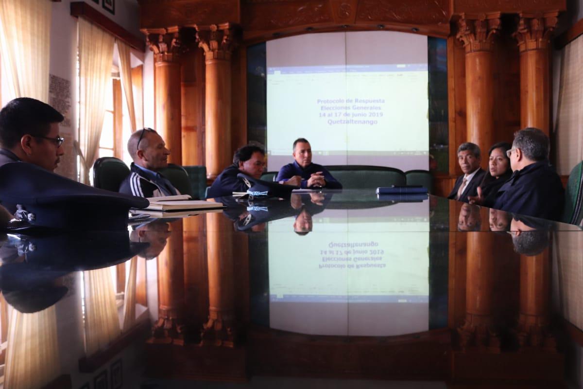 Preparan plan de emergencia municipal, para las Elecciones Generales 2019