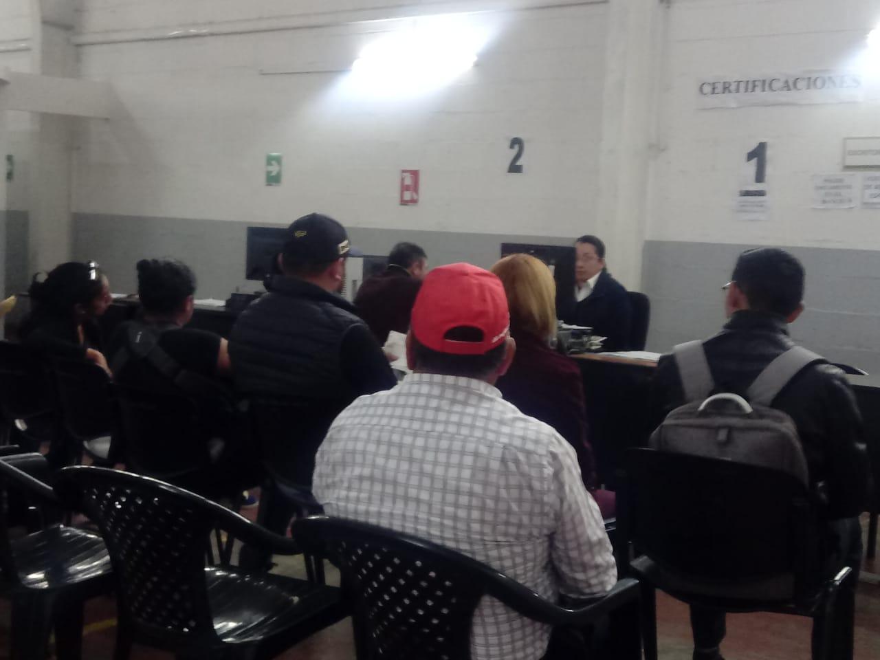 RENAP extenderá horario por elecciones