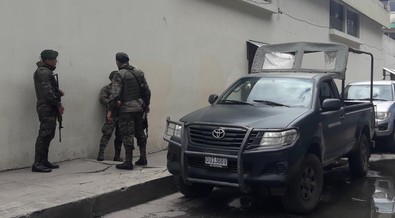 600 elementos castrenses para poder resguardar las papeletas en Quetzaltenango