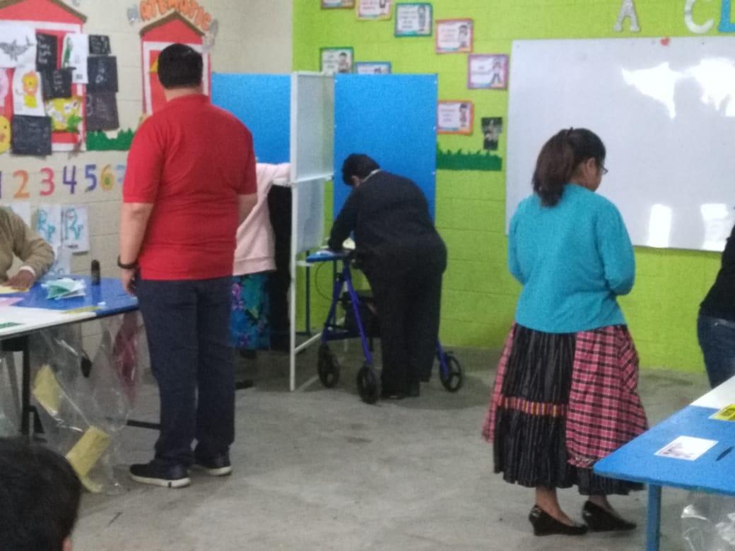 ((En directo)) Cierran centros de votación e inicia conteo de votos en Quetzaltenango