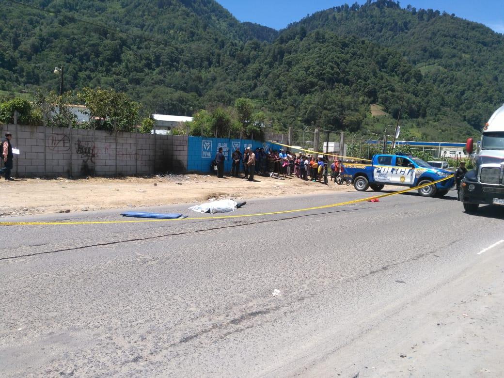 Hombre muere tras ser atropellado en Cantel