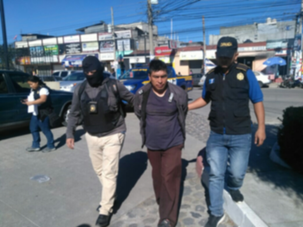 Capturan en Cajolá a presunto sicario de pandilla